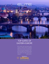 TOP SUITES OF EASTERN EUROPE - Elite Traveler