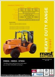 Download Datasheet - Forktruck Solutions Ltd.