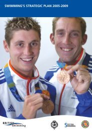 Swimming's Strategic Plan 2005-2009 - F.i.g.