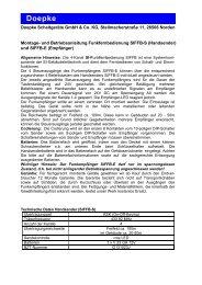 Bedienungsanleitung [3931154.pdf] - Doepke