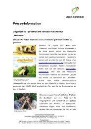 Presse-Information - Ungarn