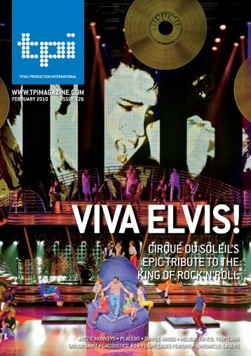 Viva Elvis! TPi Magazine - Stage Technologies