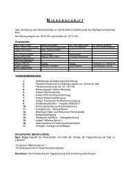 Offizielles Protokoll (PDF) - GRÜNE für Rum