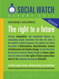 OVERVIEW - Social Watch