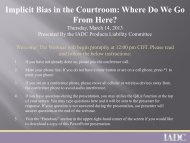 Implicit Bias in the Courtroom: Where Do We Go From Here?