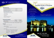 Download Conference Brochure - The Egyptian Society of Surgeons ...