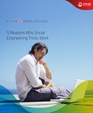 5 Reasons Why Social Engineering Tricks Work (PDF) - Trend Micro