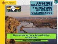 Restauración de ríos y defensa frente a inundaciones - spancold
