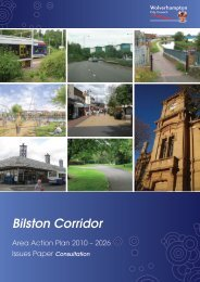 Bilston Corridor - Wolverhampton City Council - Home Page