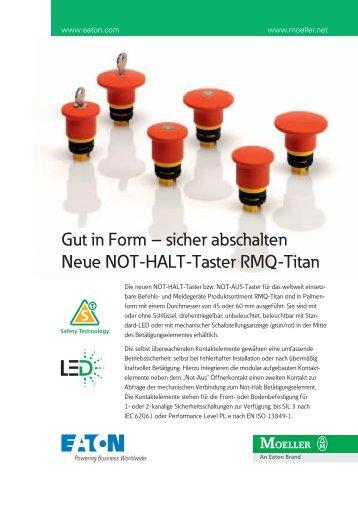 Not-Aus - Elva-automation.de