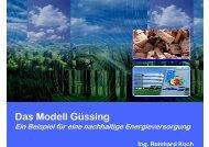 Das Modell Güssing - energytalk