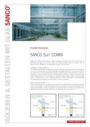 Sanco SUN Combi - Glas Porschen GmbH