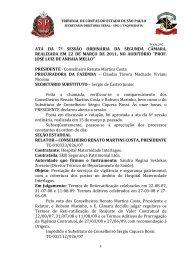 conselheiro renato martins costa - Tribunal de Contas do Estado de ...