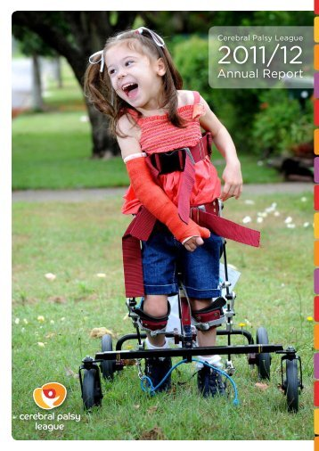 CPL Annual Report 2011/12 - Cerebral Palsy League