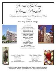 November 20, 2011 FEAST OF CHRIST THE KING - St Patrick's Erie ...