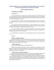 Decreto Supremo 165-2009. - Facultad de Derecho