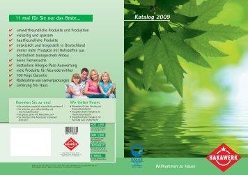 Katalog 2009 - HAKAWERK W. Schlotz GmbH