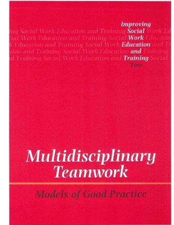 Multidisciplinary Teams - PowerPoint PPT Presentation