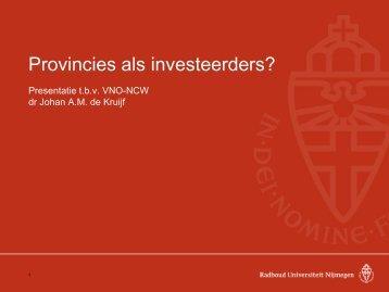 de rijkdom van provincies - VNO-NCW Midden