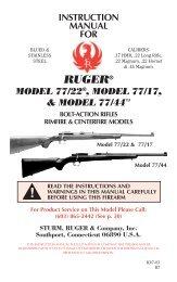 Model 77-22 Manual