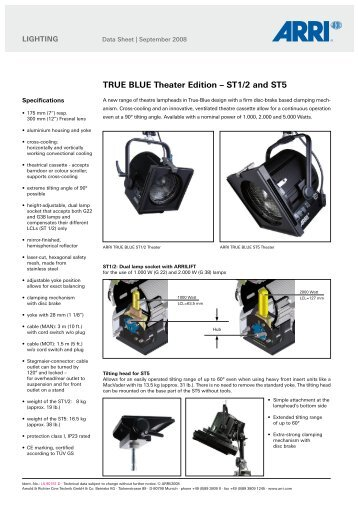 TRUE BLUE Theater Edition – ST1/2 and ST5 - Video Cine Import