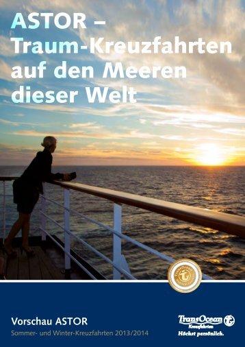 ASTOR – Traum-Kreuzfahrten auf den Meeren dieser Welt
