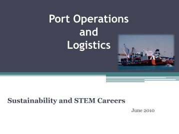 Port Operations Presentation.pdf - the Virginia Modeling, Analysis ...