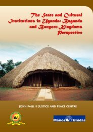 State and Cultural Institutions - John Paul II Justice and Peace Centre
