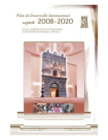 Plan de Desarrollo Institucional 2008-2020 - F A Z - Universidad ...