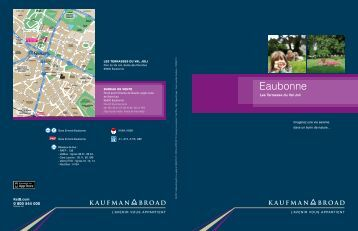 La brochure - Kaufman & Broad