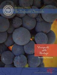 Vineyards with Heritage presents some of the pioneers in Zinfandel