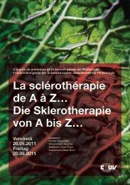 Download als PDF - Schweizerischen Gesellschaft für Phlebologie