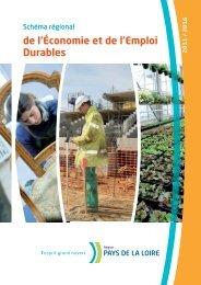 le Schéma régional de l'économie et de l'emploi durables - Conseil ...