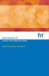 Download Course Leaflet - FIT