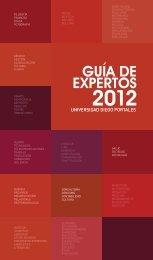Guía de Expertos 2012 - Universidad Diego Portales