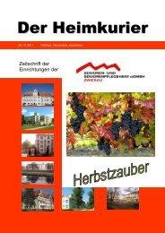 Haus Stadtblick - Senioren- und Seniorenpflegeheim gGmbH Zwickau