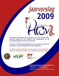 Jaarverslag werking 2009 - HROV