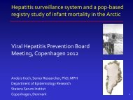 Greenland - Viral Hepatitis Prevention Board