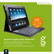 Ideenheft für digitales Leben | Oktober 2012 - Gravis