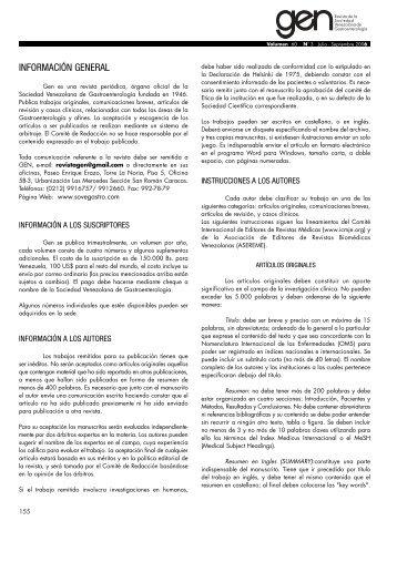 instrucciones a los autores - Imbiomed