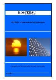 Katalog Photovoltaik (Stand 11.02.2011) - id-Union