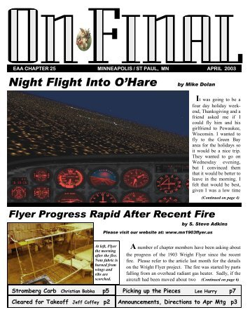 Night Flight Into O'Hare - EAA Chapter 25