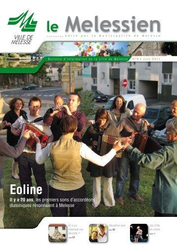 Melessien n° 9 - Juin 2011 (pdf - 2,76 Mo) - Site officiel de la ville de ...