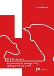 výroční zprávu společnosti za rok 2012