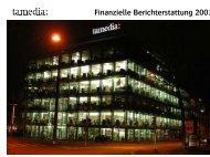 Finanzielle Berichterstattung 2001 - Tamedia