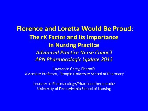 Florence and Loretta Would Be Proud - Christiana Care Health