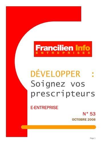 Soignez vos prescripteurs - Ordre des experts-comptables de Paris ...