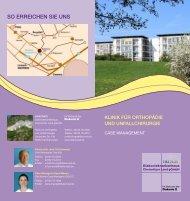 Klinik für Orthopädie und Unfallchirurgie - Diakoniekrankenhaus ...
