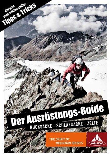Der Ausrüstungs-Guide
