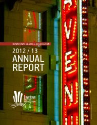 to read the 2012/13 DSA Annual Report - Downtown Seattle ...
